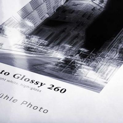 "260 g/m² 24""/610mm x 30m Hahnemühle Photo Glossy"