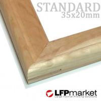 Standard35 (35x20) vakráma lécek